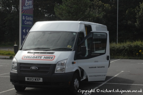 The tour bus