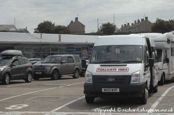 Waiting at Holyhead terminal