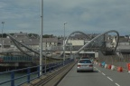 Wavy footbridge thing at Holyhead